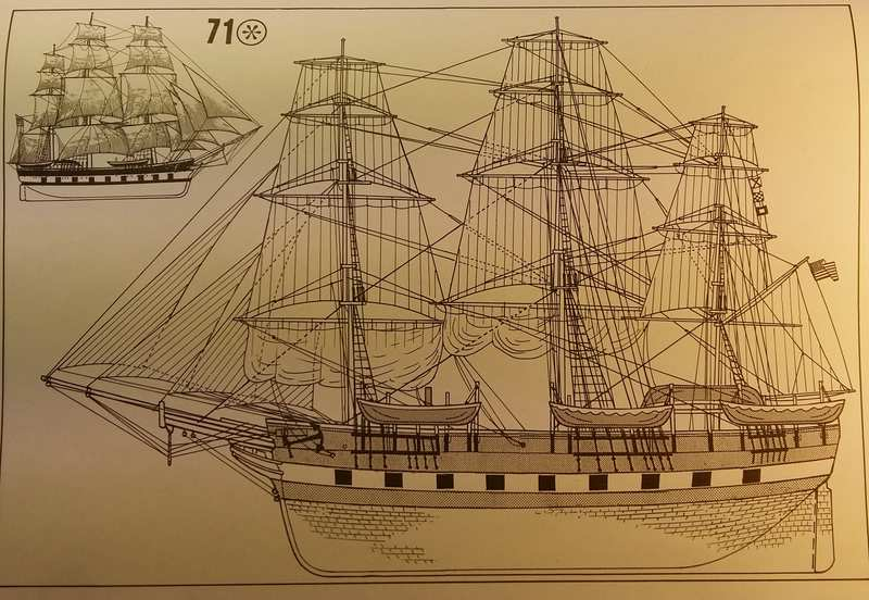 Historic Whaling Ship Charles W. Morgan in 1/110 von Revell Comp_104