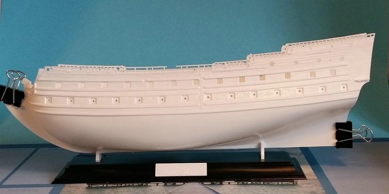La Sirene, Heller, 1/150 Comp_225