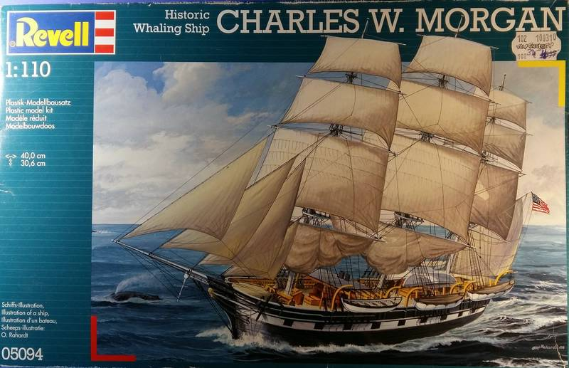 Historic Whaling Ship Charles W. Morgan in 1/110 von Revell Comp_284