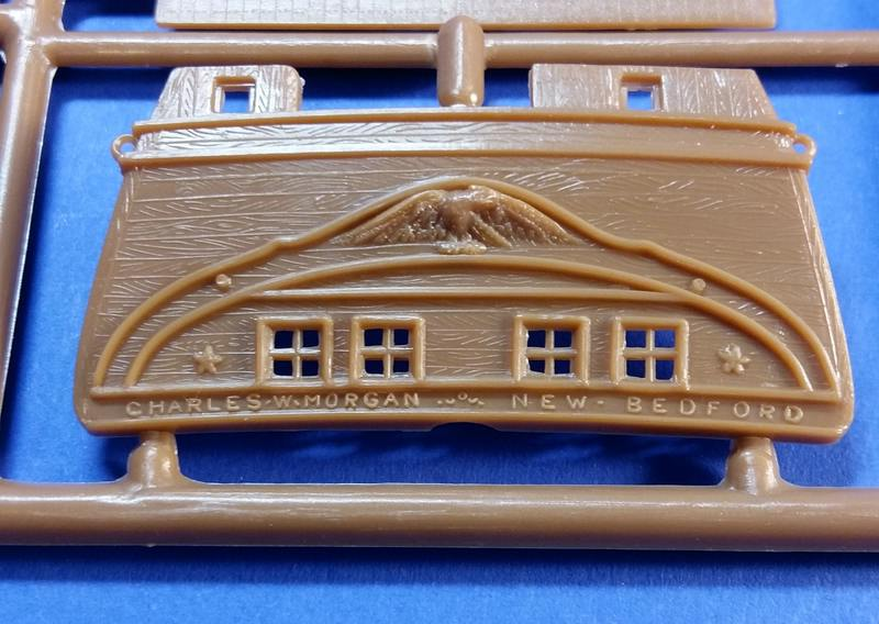 Historic Whaling Ship Charles W. Morgan in 1/110 von Revell Comp_290