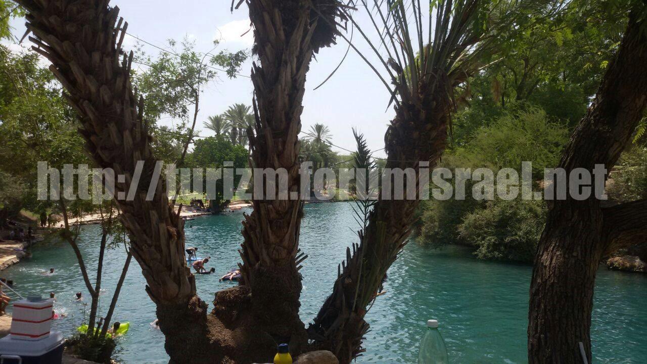 Сахне, (Ган а-Шлоша) природные бассейны и водопады. Sahne_10