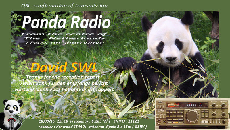 eQSL de PANDA radio 18-08-10