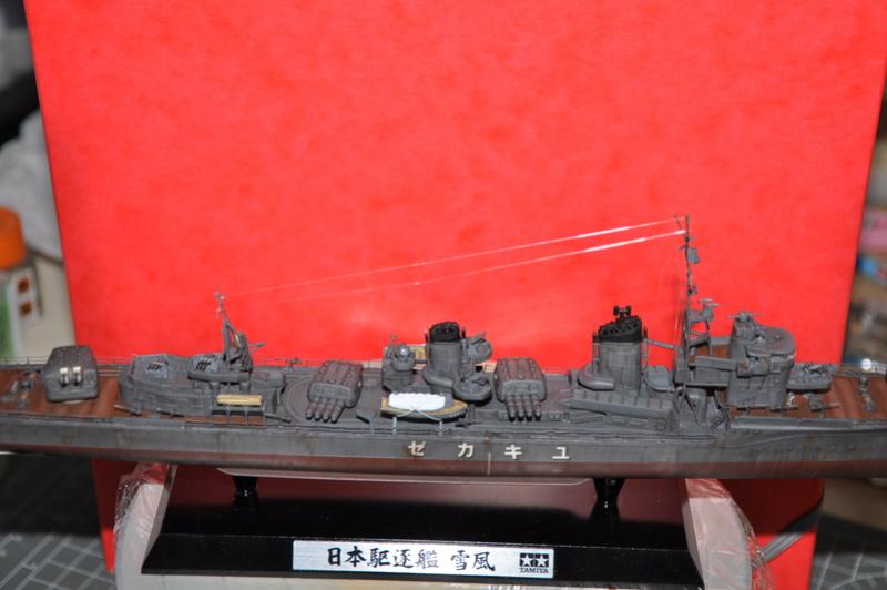Destroyer Yukikaze Tamiya 1/350 + photodécoupe Aber. - Page 4 Dsc_0054