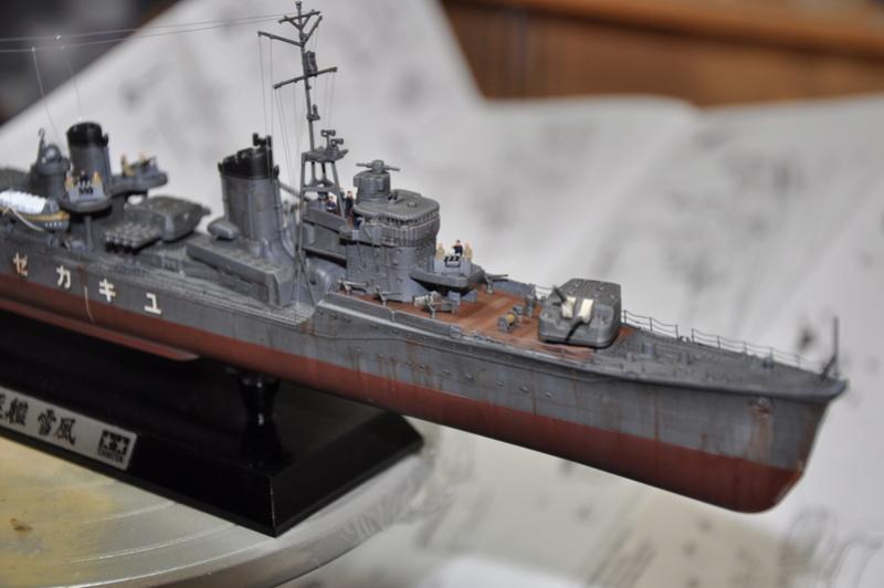 Destroyer Yukikaze Tamiya 1/350 + photodécoupe Aber. - Page 4 Dsc_0057