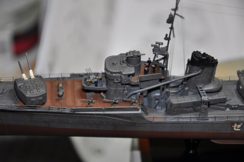 Destroyer Yukikaze Tamiya 1/350 + photodécoupe Aber. - Page 4 Dsc_0058
