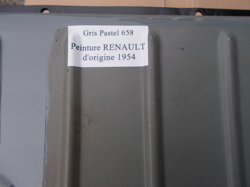 Mon montage à l'echelle 1 ,  Renault Juvaquatre 1954 310_ni13