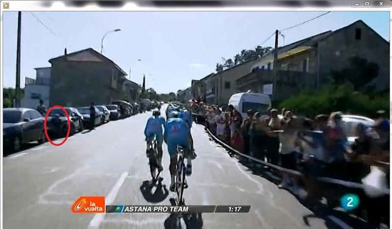 Vuelta a España 2016 CRE Laias - Castrelo de Miño Vuelta11