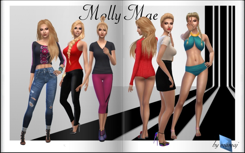 Sims 4 Downloads Molly_10