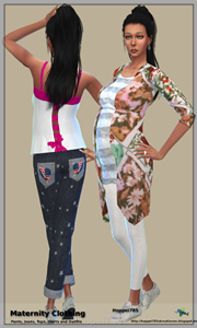 Sims 4 Maternity Clothing by hoppel785 Vorsch12