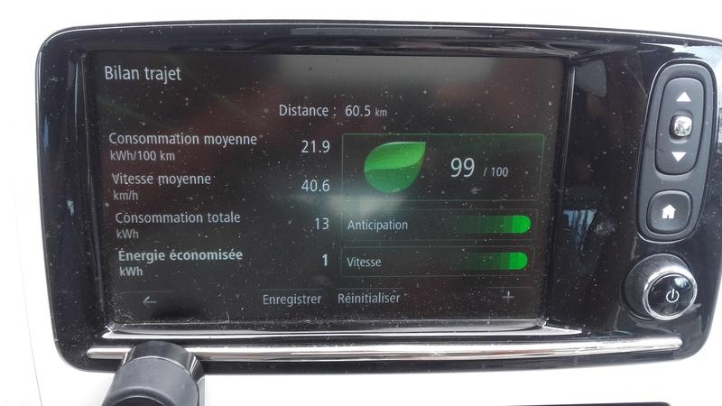 """Comparatif : nouvelle Leaf 30 kWh / """"vieille"""" Zoé Q210 22 kWh 20160811"""