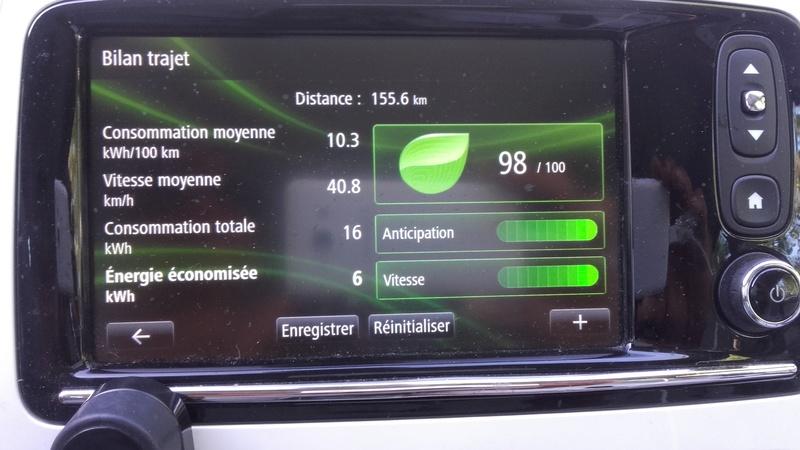 """Comparatif : nouvelle Leaf 30 kWh / """"vieille"""" Zoé Q210 22 kWh 20160815"""