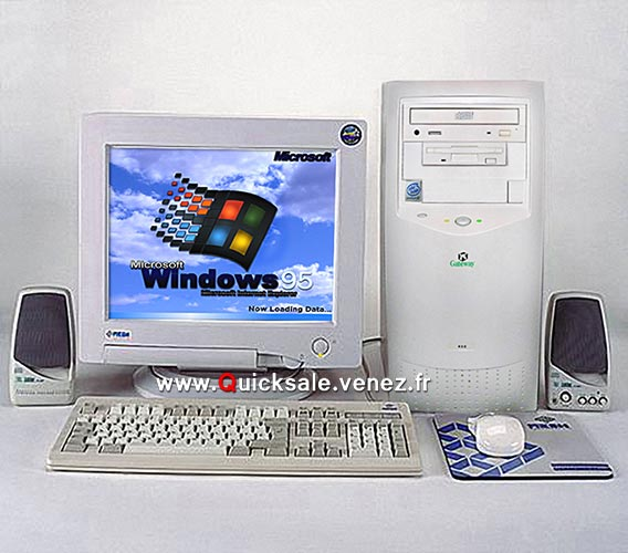[VENDU] Tour ordinateur Gateway Windows 95 - 75€  10049910
