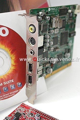 [VDS] Carte D'acquisition Pinnacle Miro DC10 + 25€ Dc10-p10