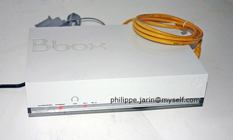 [VENDU] Bbox Sensation Ubeeune capacité de routage de 1 Gb/s - 10€ Bboxph10