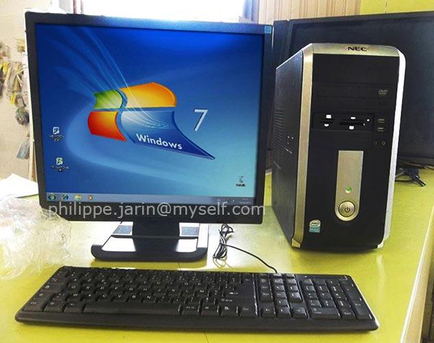 [VENDU] Tour ordinateur Nec windows 7 - 50€ Nec12