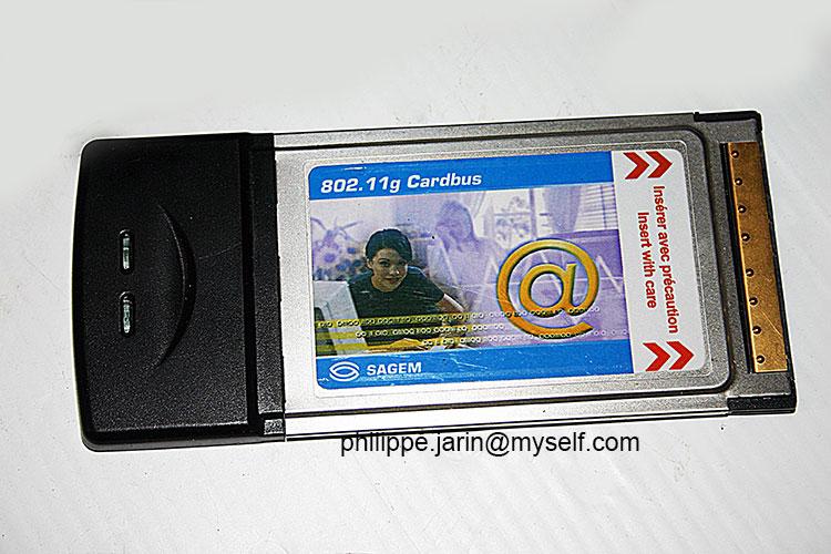[VDS] Carte PCMCIA WIFI Sagem, plus.. 18€ Sagemp11