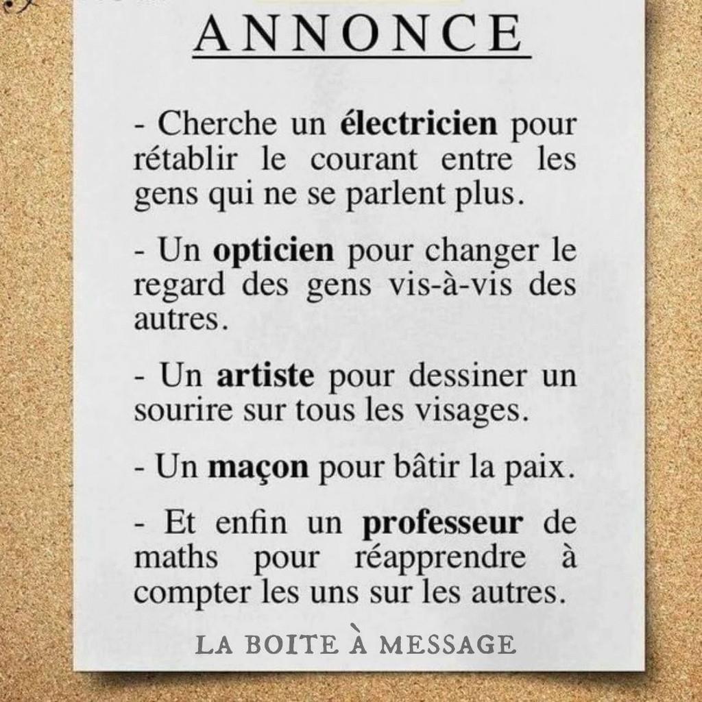 ANNONCES Du Dimanche 13582012