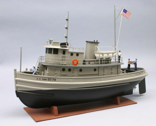 "US ""EX"" ARMY 74 ST TUG 1/48 Dum12510"