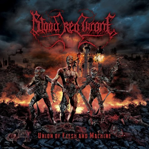 Blood Red Throne - Union Of Flesh And Machine (2016) Blood-10