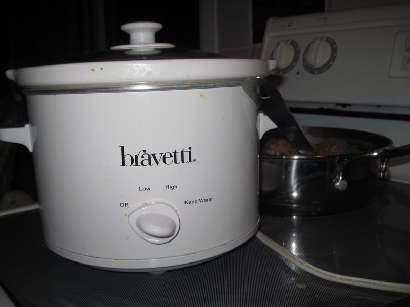 Boulettes au veau et au bacon mijoteus 02011