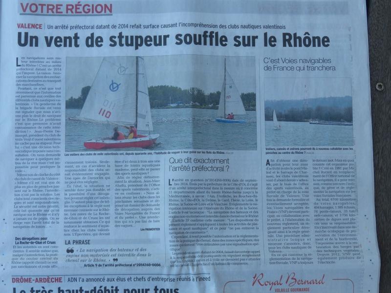 TOUS les spots situés sur le Rhône menaçés d'interdiction - Page 4 P1020917