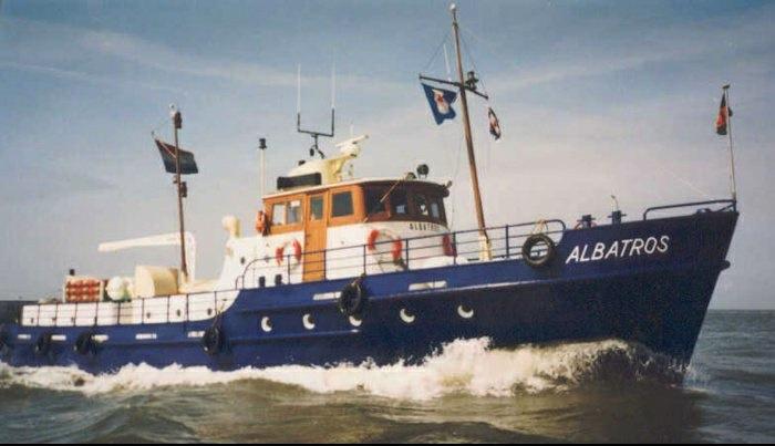 L'Albatros - Douanes néerlandaises - au 1/50 sur plans Albatr12