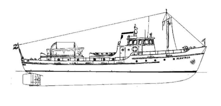 L'Albatros - Douanes néerlandaises - au 1/50 sur plans Plan_010
