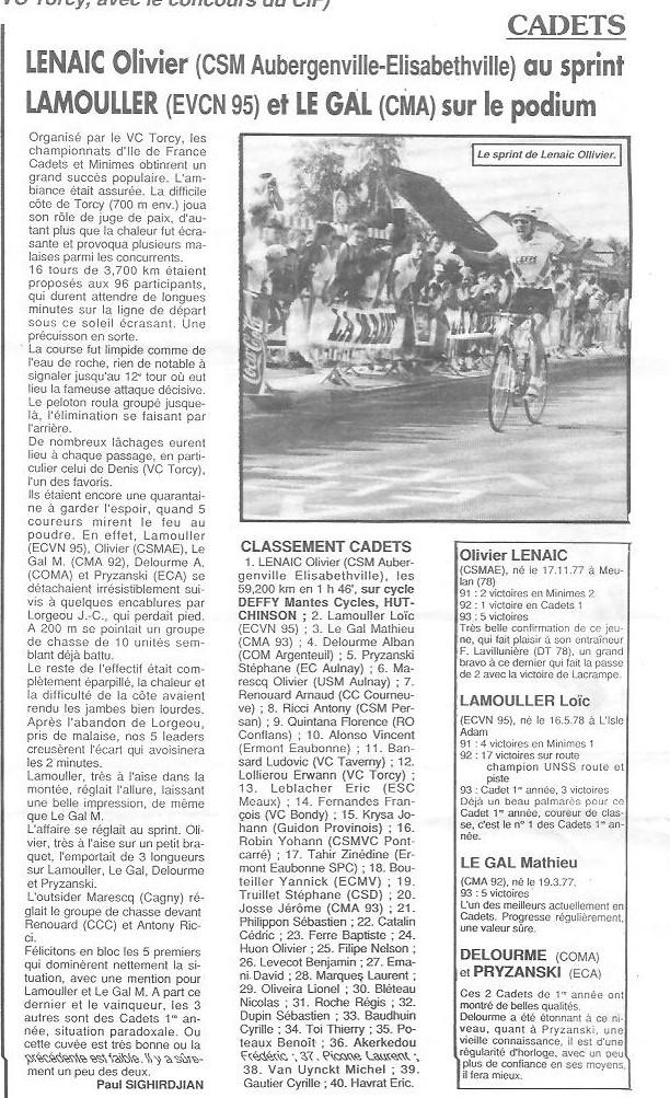 Coureurs et Clubs de janvier 1990 à octobre 1993 - Page 38 00919