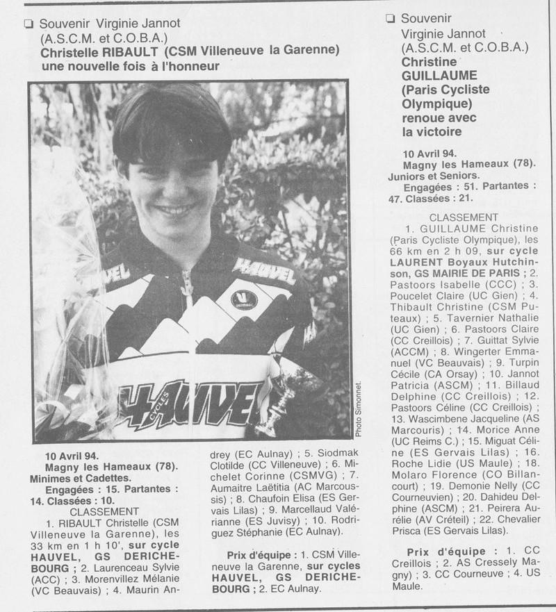 Coureurs et Clubs de Octobre 1993 à Septembre 1996 - Page 5 01033