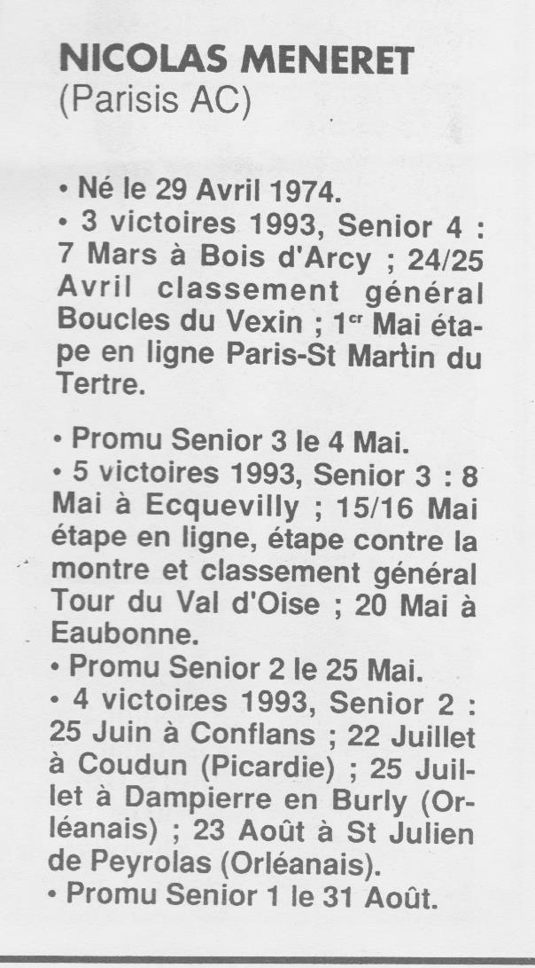Coureurs et Clubs de Octobre 1993 à Septembre 1996 - Page 2 01123