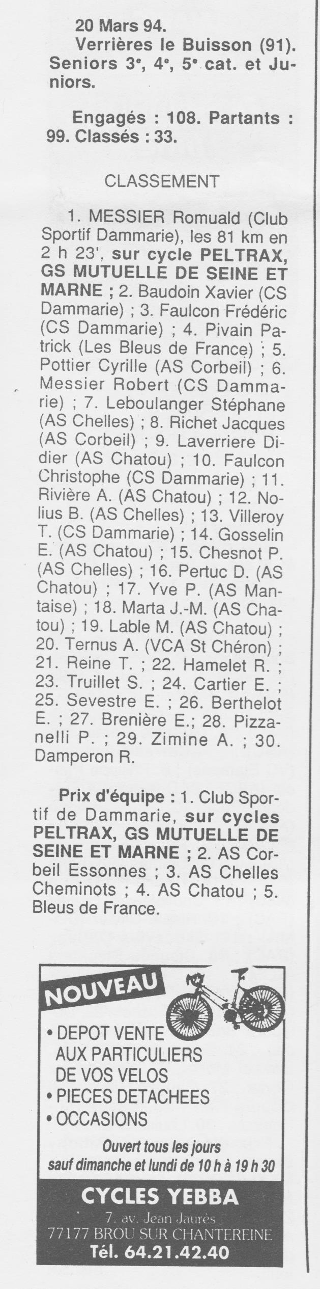 Coureurs et Clubs de Octobre 1993 à Septembre 1996 - Page 4 01919