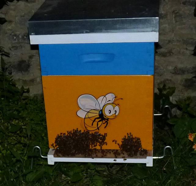 Abeilles, ruches et jardins Labarb10