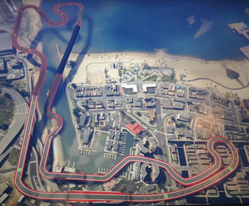 Grand Prix de Monaco sur GTA 5 Fullsi10