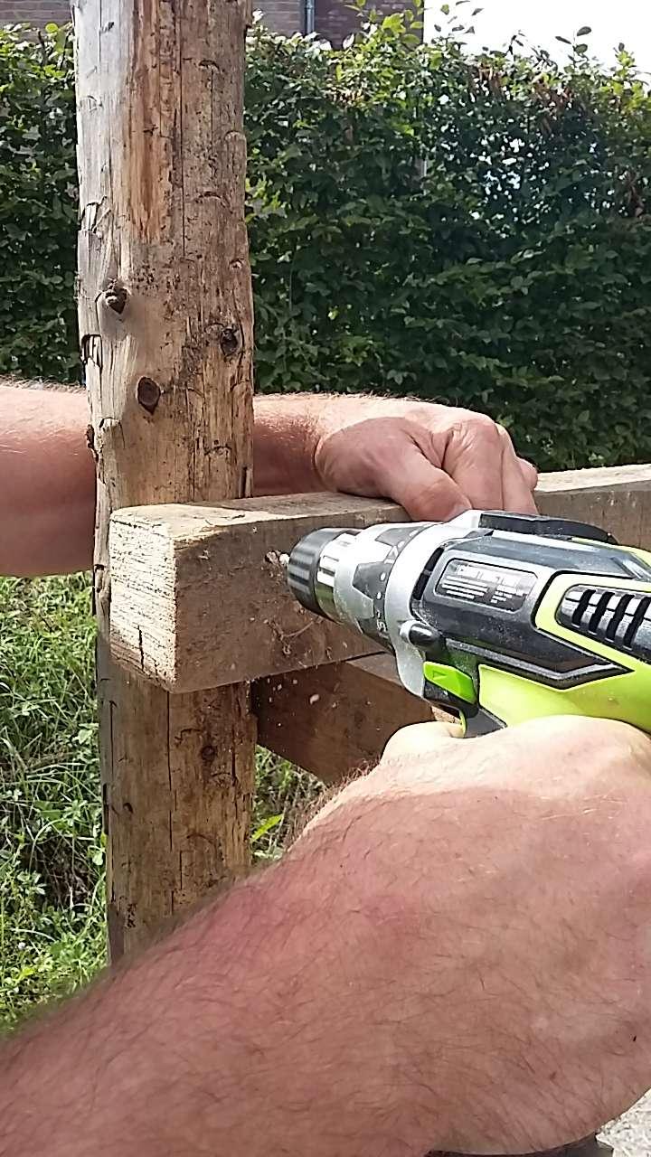 Construction mirador de battue étape par étape via PLC !  1511