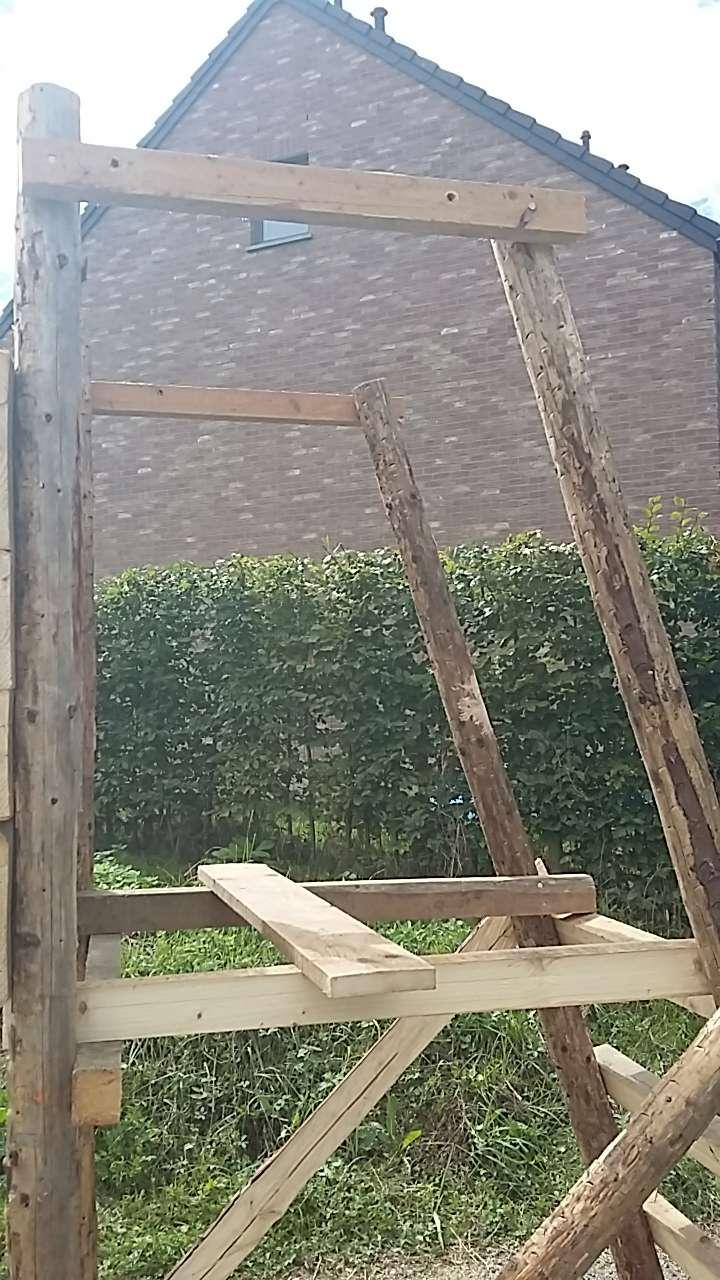 Construction mirador de battue étape par étape via PLC !  2312