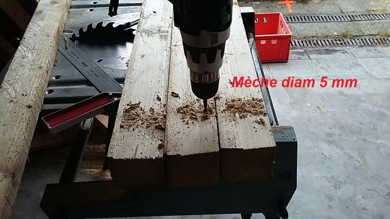 Construction mirador de battue étape par étape via PLC !  510