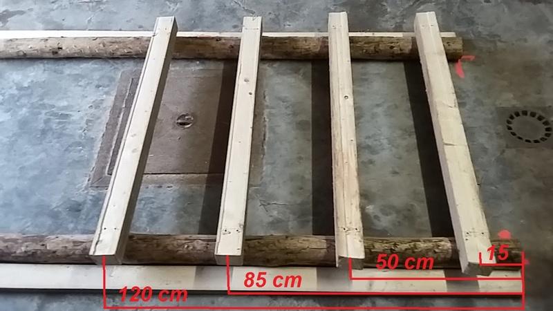 Construction mirador de battue étape par étape via PLC !  810