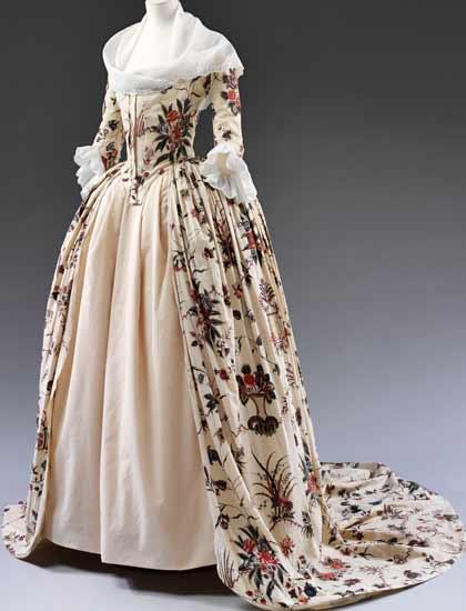 robes XVIIIe: styles, couleurs et matières  V0_mas10