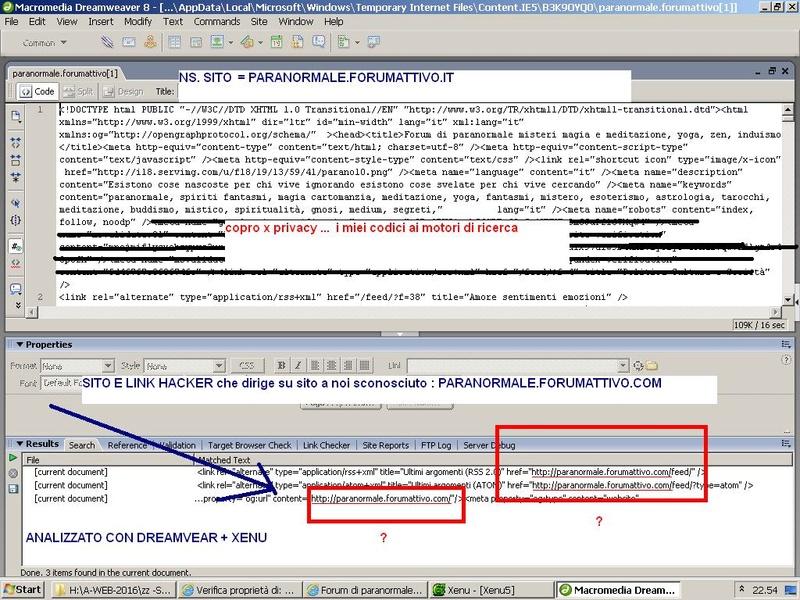 Link deviati dal mio forumattivo a un altro forumattivo Hacker13