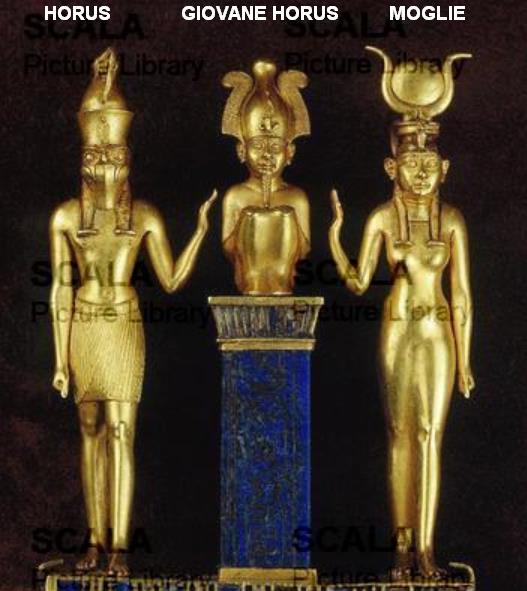 Il giovane figlio di Dio Horus-10