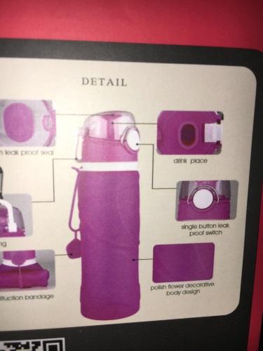 ieGeek Faltbare Wasserflasche Bestan12