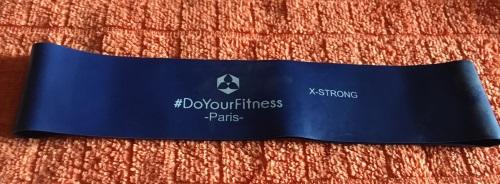 4er-Set Fitnessbänder inklusive Tragetasche »Paris« Blaues12