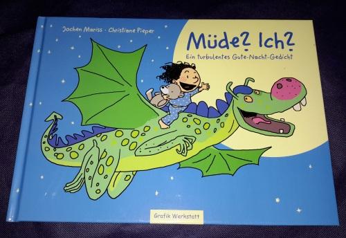 Jochen Mariss - Müde? Ich?: Ein turbulentes Gute-Nacht-Gedicht Cover11