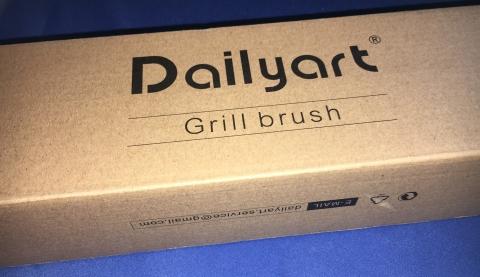 Dailyart - Edelstahl BBQ Grillbürste  Firmen12