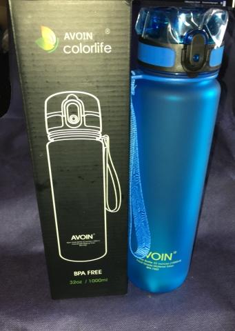AVOIN colorlife - Sport Wasser Flasche Flasch35