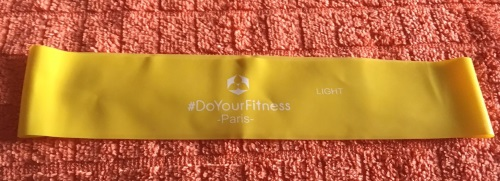 4er-Set Fitnessbänder inklusive Tragetasche »Paris« Gelbes12
