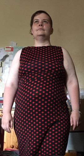 Colyanda Damen Business Kleid Ärmellos Ichmit10