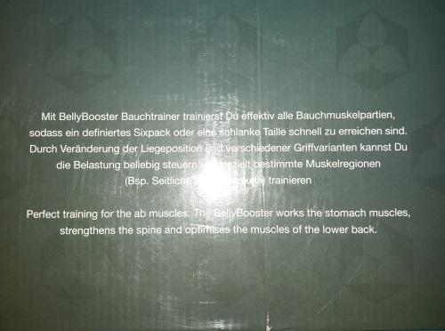 #DoYourFitness - Bauchtrainer »BellyBooster« Infos210