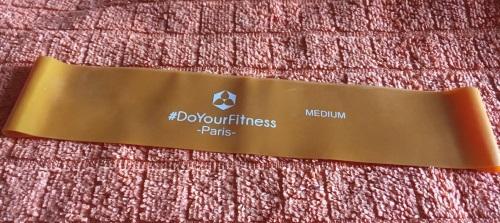 4er-Set Fitnessbänder inklusive Tragetasche »Paris« Orange11