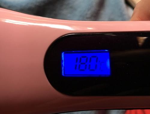 Beautiful Star - Elektrische LCD Haarglätter Bürste Temper11